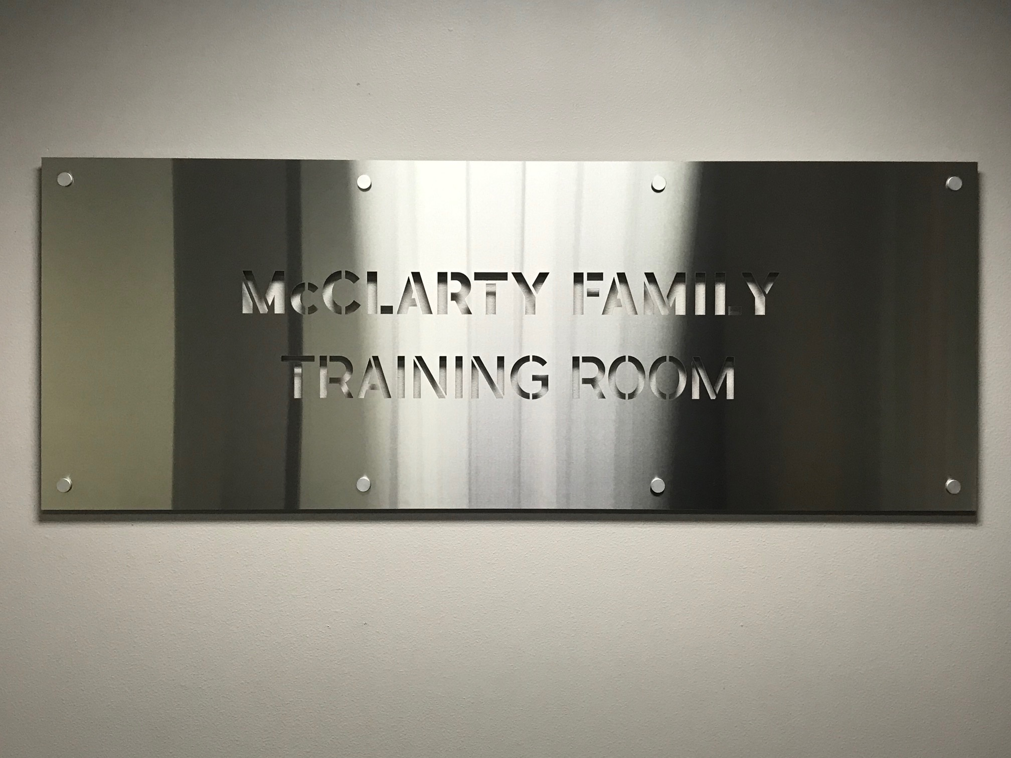 McClarty Family Training Room opens at the Central California Food Bank