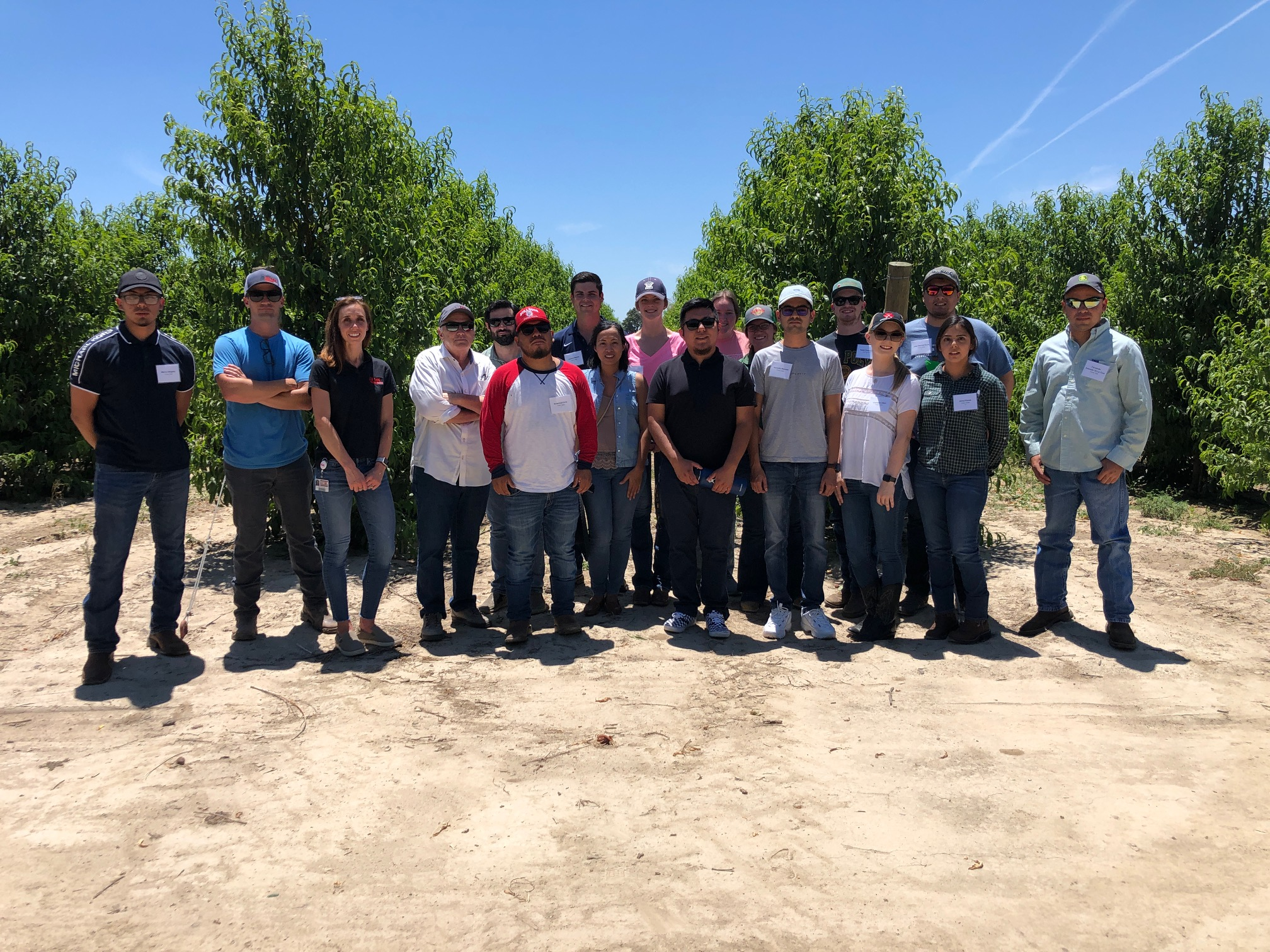 Western Growers Careers in Ag students visit HMC Farms