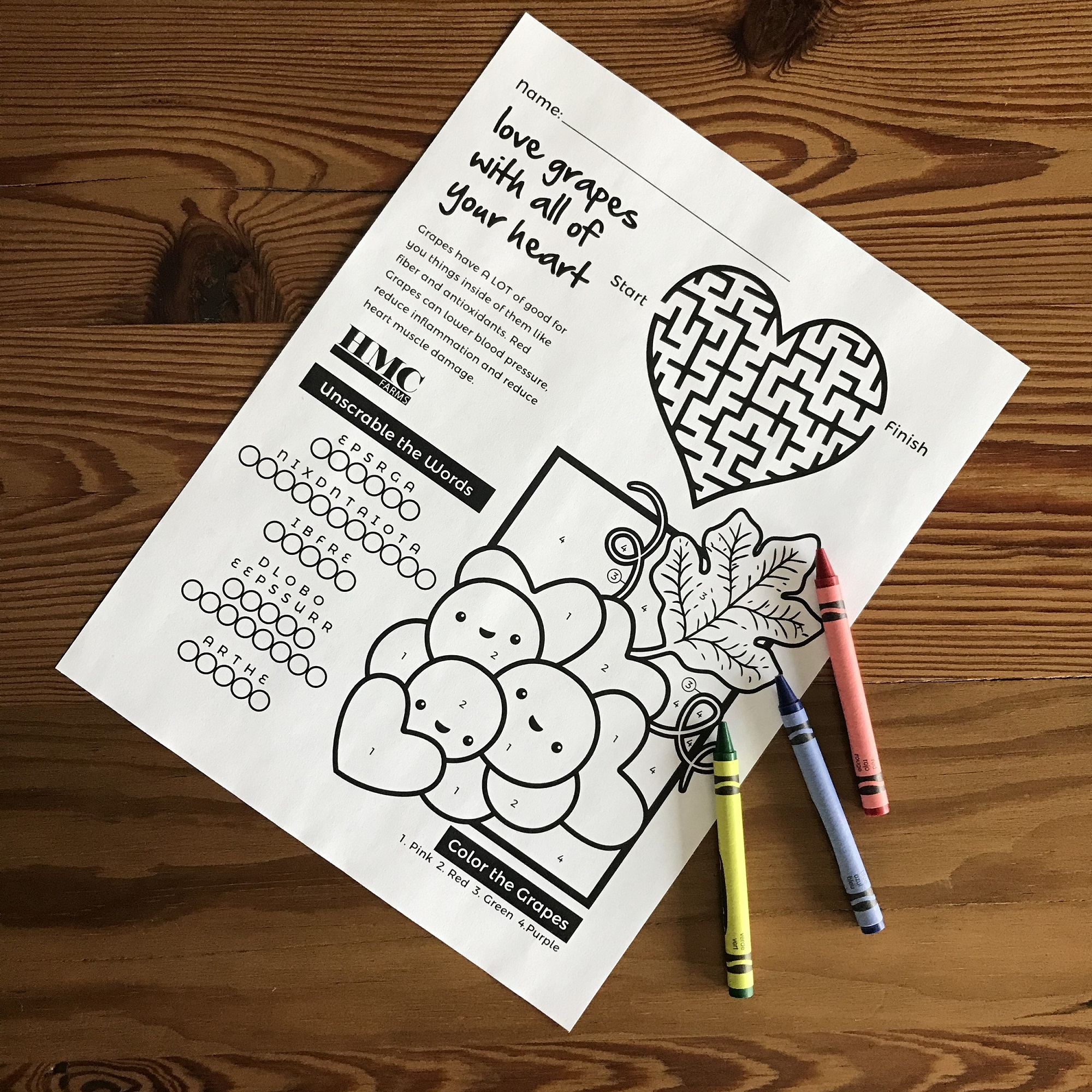 Free Downloadable Activity Sheets for Kids